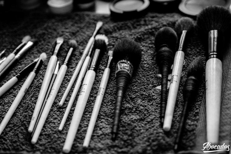 materiales y herramientas de maquillaje